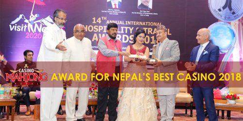 Nepal's Best Casino AWARD 2018